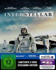 Interstellar (Limitierte 2-Disc Steelbook-Edition)
