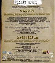 Capote (Collector's Edition)